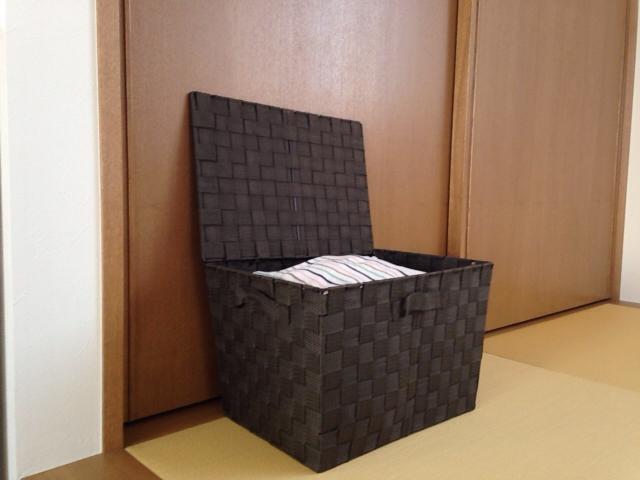 ニトリの蓋付きの箱