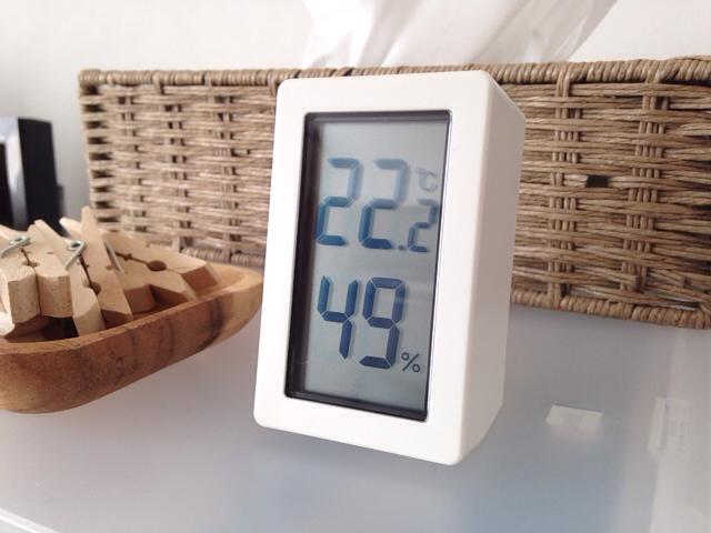 デジタル温湿度計 置型