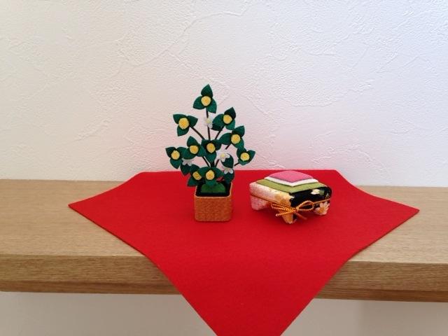 花と菱餅 その1